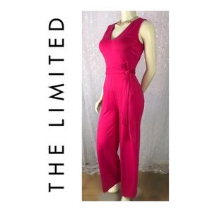 NWT THE LIMITED 💕 PRETTY IN PINK JUMPSUIT